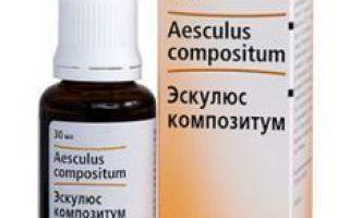 Эскулюс Композитум — инструкция по применению, цена, отзывы и аналоги