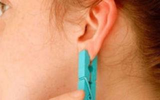 Прокол уха, появилось воспаление: как снять, что делать?