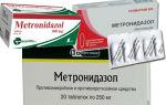 Метронидазол 500 — инструкция по применению, цена, отзывы и аналоги
