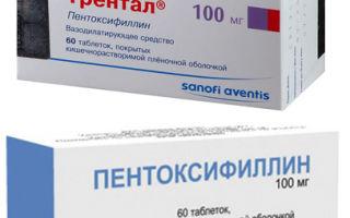 Пентоксифиллин или Трентал: что лучше и в чем разница, отличие составов и отзывы врачей