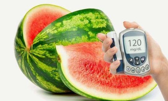 Арбуз при диабете сахарном 2 и 1 типа: можно ли есть, польза и вред