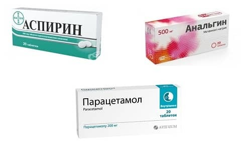 Совместимость Парацетамола, Анальгина и Аспирина