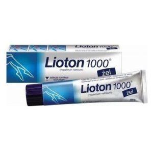 ЛИОТОН 1000 (гель) - инструкция по применению, цена, отзывы и аналоги